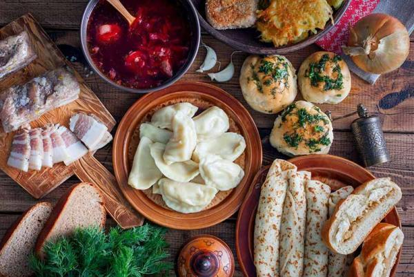 12 مورد از معروف ترین غذاهای اوکراینی