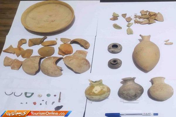 کشف وضبط اشیای باستانی 3هزارساله در سقز