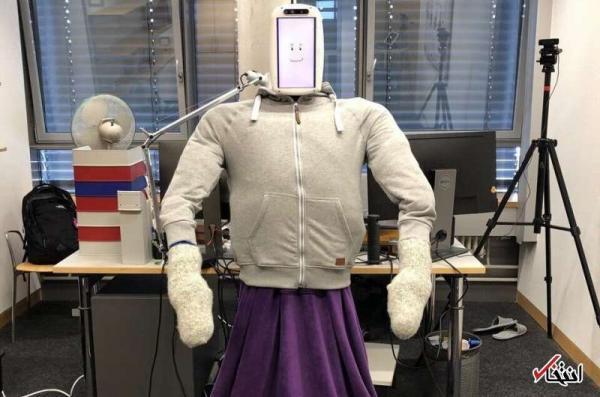 ربات هوشمندی که کاربران را در آغوش می گیرد ربات هوشمندی که کاربران را در آغوش می گیرد