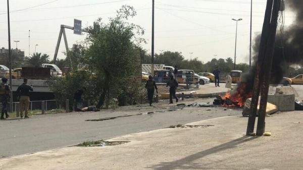 انفجار در بغداد یک کشته و چهار زخمی در پی داشت