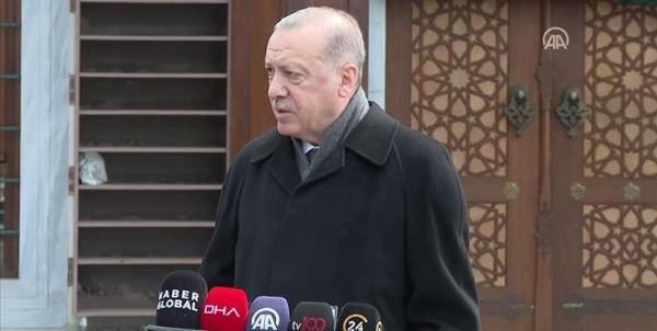 اردوغان: نمی توانیم سال ها زندگی با ارامنه را فراموش کنیم