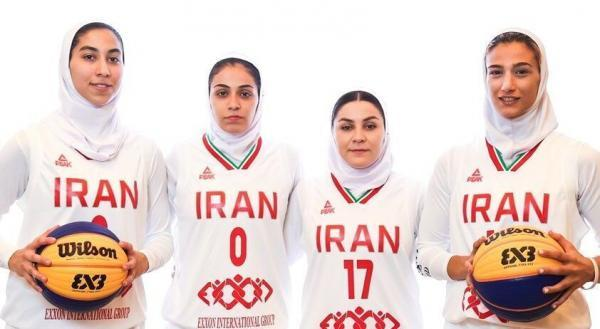 خبرنگاران 9 بازیکن به اردوی تیم ملی بسکتبال سه نفره زنان دعوت شدند