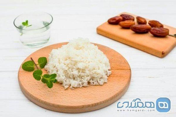 عوارض زیاده روی در خوردن برنج سفید