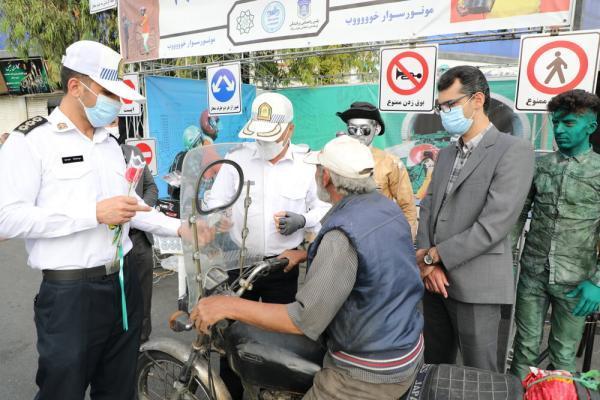 تأثیر مثبت پویش موتورسوار خوب در نهادینه سازی قوانین ترافیکی و کاهش تصادفات
