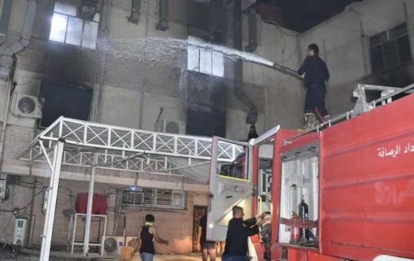 خبرنگاران رییس جمهوری عراق: فاجعه بیمارستان بغداد نتیجه انباشت فساد در کشور است