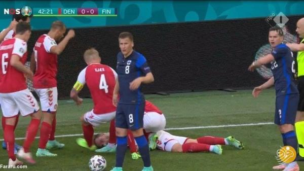 (عکس) صحنه دردناک و تلخ در جام ملت های اروپا