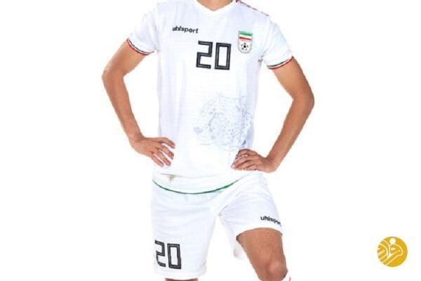 (عکس) طرح جدید پیراهن تیم ملی فوتبال ایران