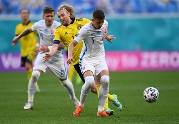 یورو 2020، صدرنشینی سوئد با شکست اسلواکی
