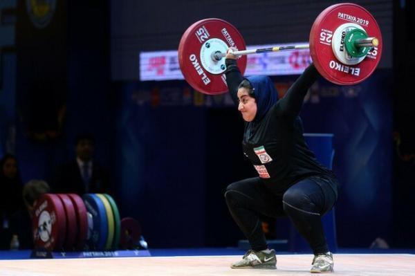 گلایه دختر وزنه بردار از فدراسیون: ناعادلانه المپیک را از من گرفتند