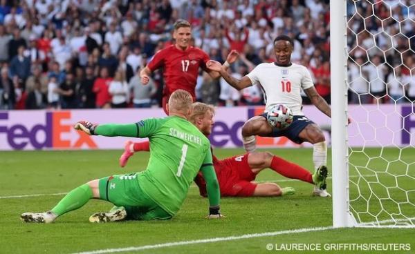 تکرار تساوی در نیمه نهایی با انگلیس و دانمارک