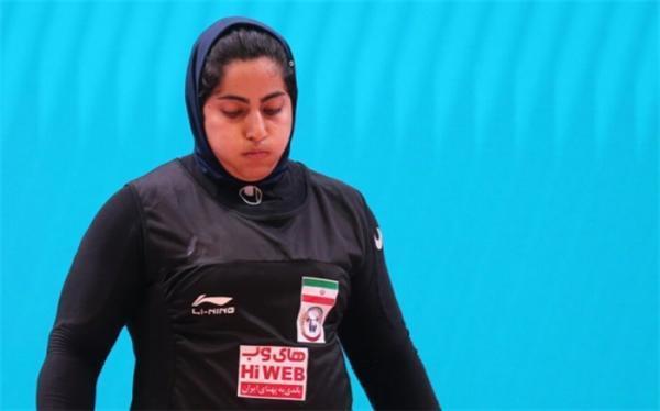 دختر وزنه بردار ایران حضور در المپیک را از دست داد